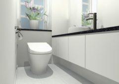 水回りリフォームでトイレ掃除が楽になる!